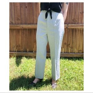 Vintage 70s High Waisted Tailored Pants